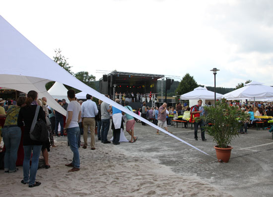 After Work Party der Witt-Gruppe im Juli 2014