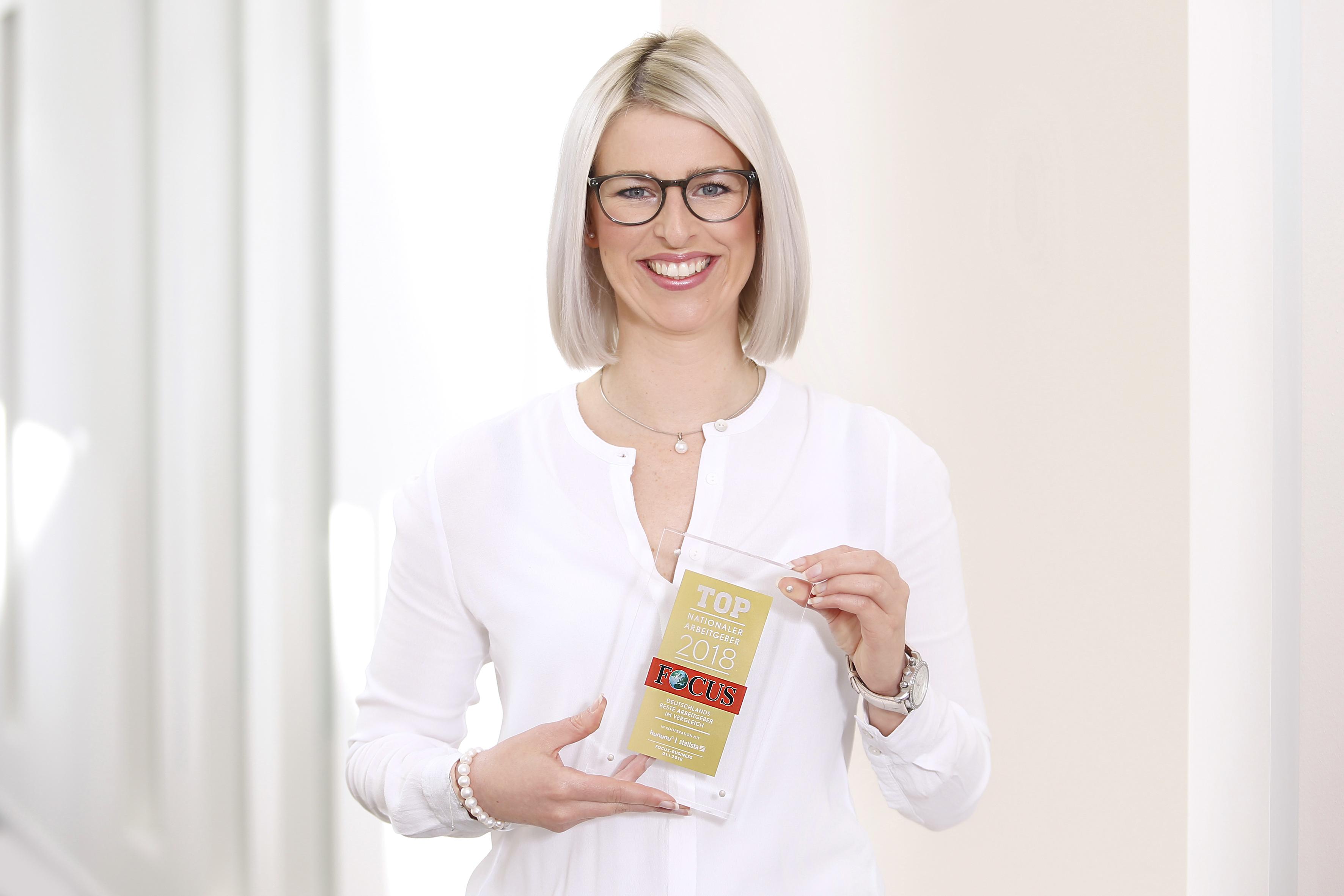 Top-Arbeitgeber 2014. Die Witt-Gruppe wurde vom Nachrichtenmagazin Focus zu einem der beliebtesten deutschen Unternehmen gewählt
